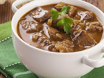 Low-Sucrose Beef Stew