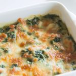 Spinach, Mushroom and Feta Crustless Quiche