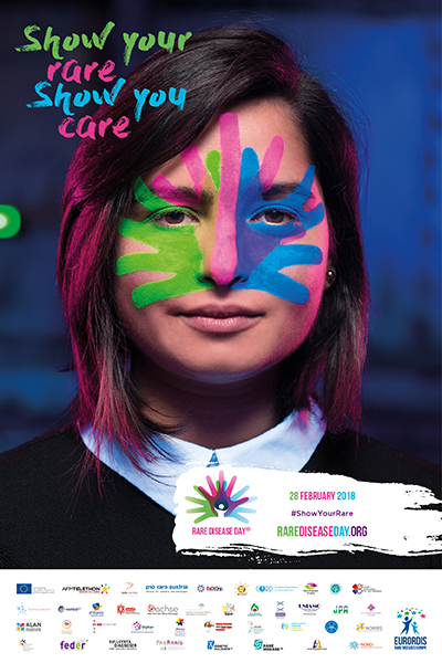 rare disease day poster