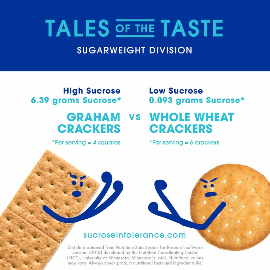 Graham Crackers vs Whole Wheat Crackers